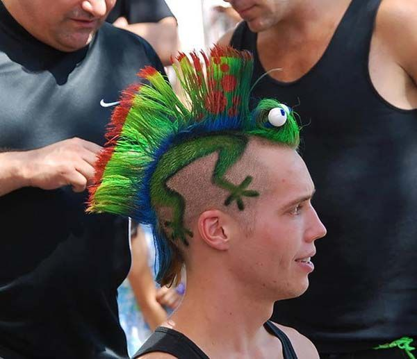 30 Crazy Hairstyles That Qualify as Art (Photos)
