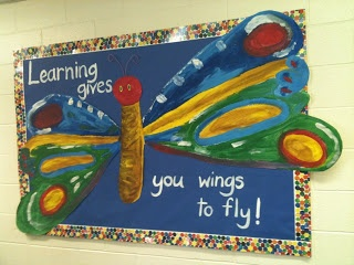 Bulletin Boards to Remember: Learning Gives You Wings to Fly