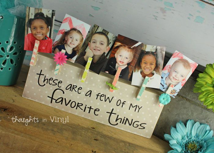 Thoughts in Vinyl - Unfinished Craft Kits and Vinyl Lettering for Your Home or…