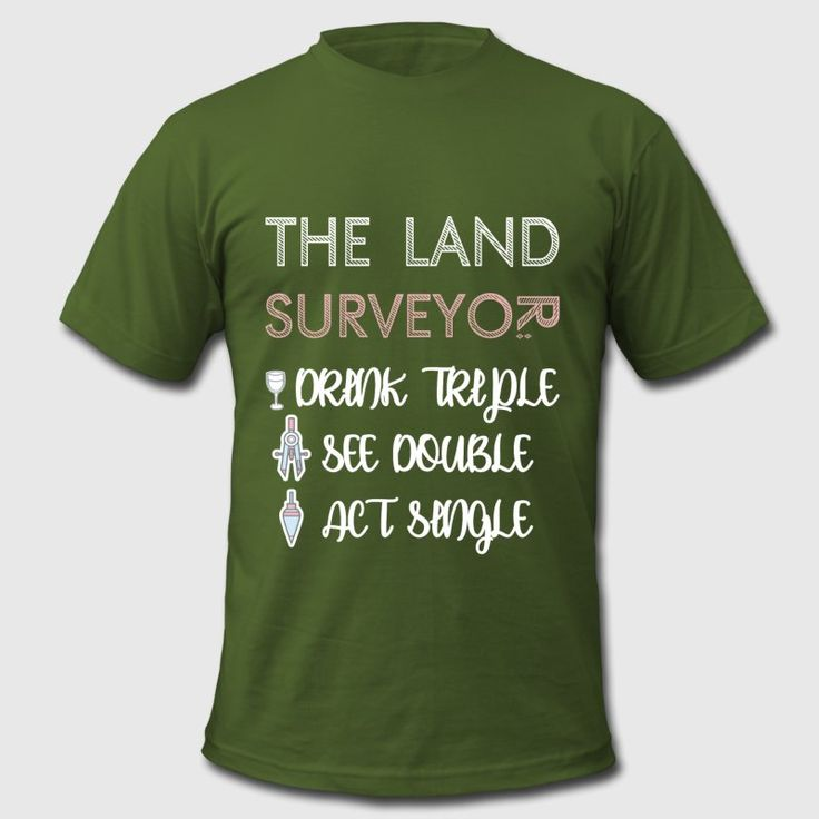 Land Surveyor - The Land Surveyor - Drink Triple, See Double, Act Single