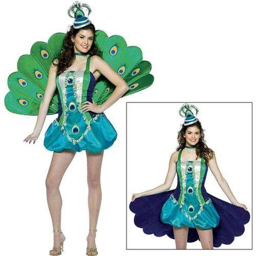 Peacock. Halloween Costumes for Tween Girls Aged 9-14