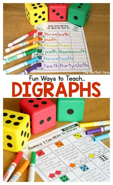 Digraphs can be tricky for struggling readers, and it's important for readers to learn how to identify digraphs early on. Check out how many different fun ways you can teach your students using these hands-on, effective and cohesive activities!