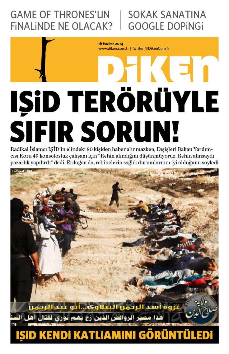 IŞİD terörüyle sıfır sorun!
