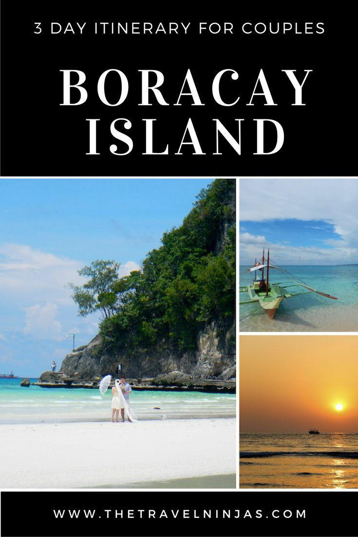 Need planning ideas for a Boracay Island visit? Check out our 3-day itinerary for couples seeking fun, adventure, & romance in paradise. via @thetravelninjas