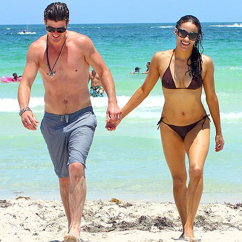 Paula Patton, Robin Thicke! what a good looking couple!