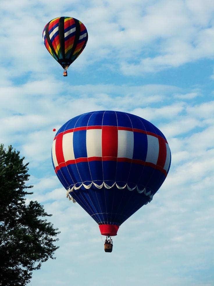 Hot Air Balloon Ride - Check!