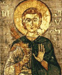 """Saint Justin Martyr. Philosopher, theologian, apologist and martyr. Unafraid to oppose emperors and unafraid to describe Christianity as """"the one certain and profitable philosophy."""""""