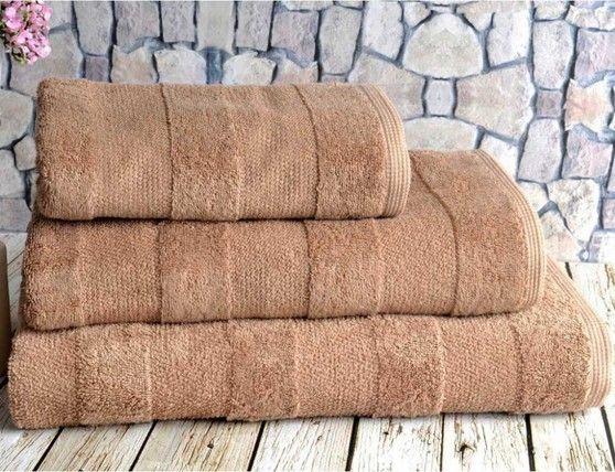 Ręcznik Nova Brown 90x150 cm