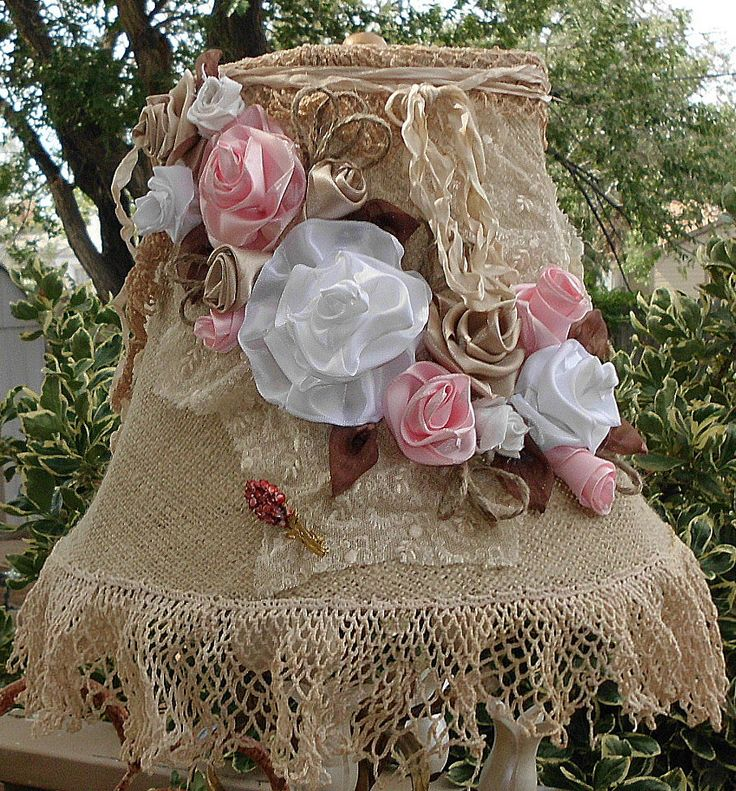 Not so many flowers, but I like the burlap idea.