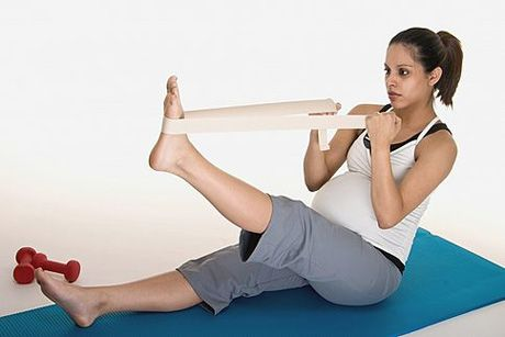 Stretching Exercises During Pregnancy