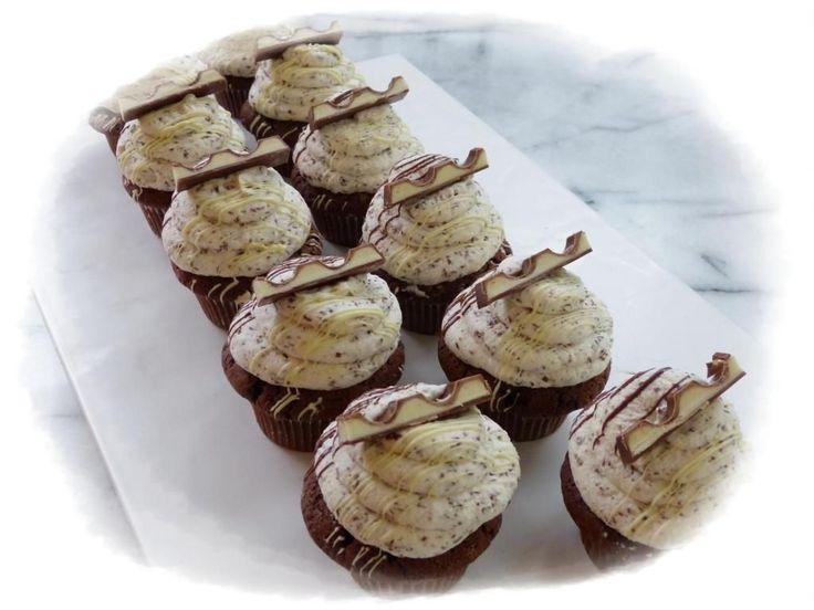 Kinderschokolade Cupcakes | Backfreaks