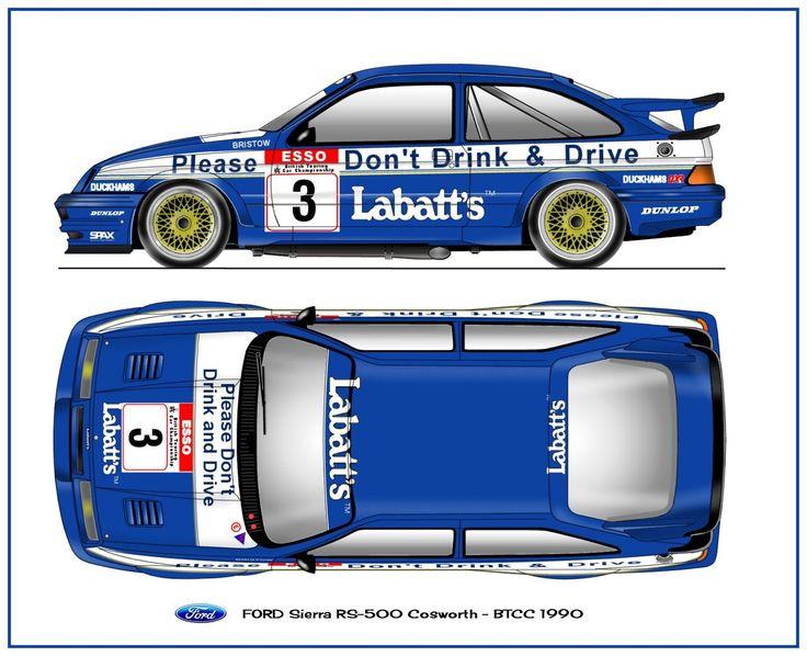 FORD Sierra Cosworth 1990