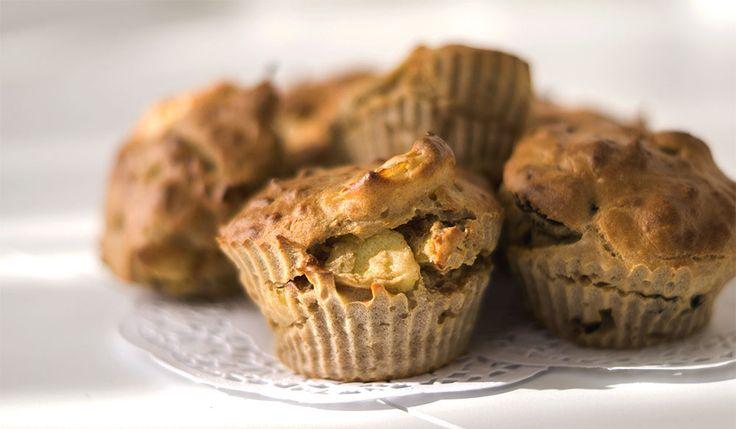 Vandaag was ik weer een beetje aan het experimenteren in de keuken en deze muffins waren het resultaat. Ik vond ze zo goed gelukt dat ik het recept graag wilde delen. Ik haalde mijn camera tevoorschij