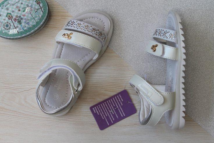 Легкие, белоснежные босоножки для маленькой модницы.#style-baby.com#сандалии#для девочки#босоножки#налето#