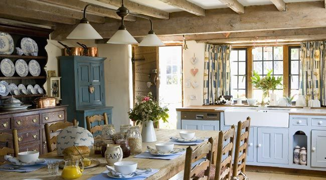 Campagne chic accessoires de d coration d 39 int rieur chez for Accessoires de decoration cuisine