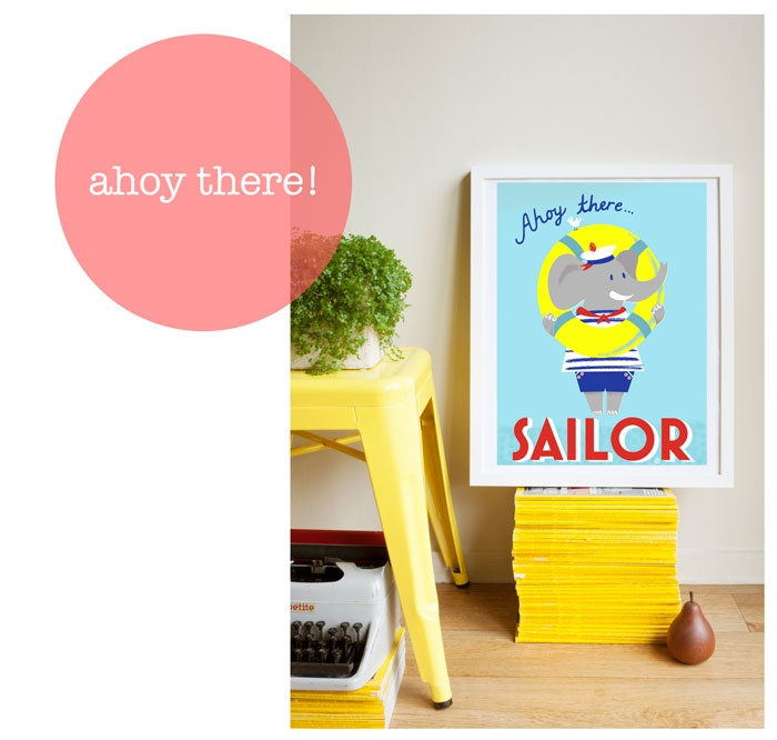 Ahoy-there-Sailor by Nellie Ryan
