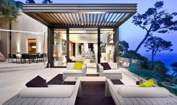 Indoor - Outdoor at French Villa in Villefranche sur Mer, Côte d'Azur