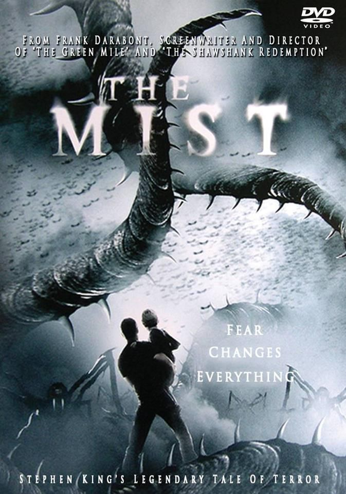 The Mist -★★★ Frank Darabont's impressive camerawork and politically incisive script make The Mist a truly frightening experience.grocery-store survival drama, dominated by Marcia Gay Harden as a shrill fundamentalist, serves as a crude but effective allegory for post-9/11 America.has a lot of the elements to be one of the great horror films, but it never quite puts it all together. It's still very good, but a few missteps keep it from ever being more than that.(double click to watch)