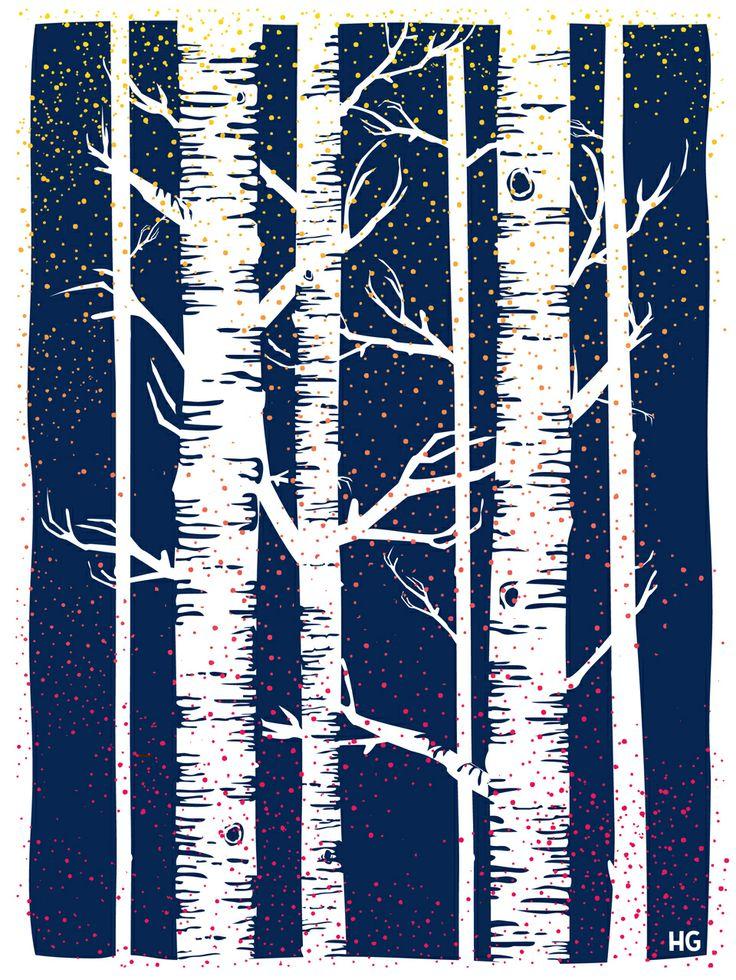 43 best birch tree ideas images on pinterest birch tree for Birch trees mural