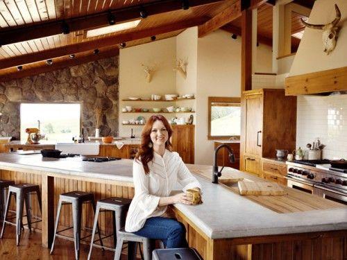 Pioneer Woman Ree Drummond's kitchen