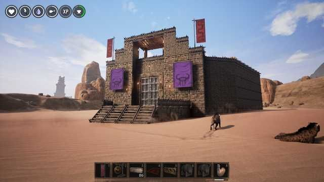 Battle Arena Build In Conan Exiles Conan Exiles Conan Building