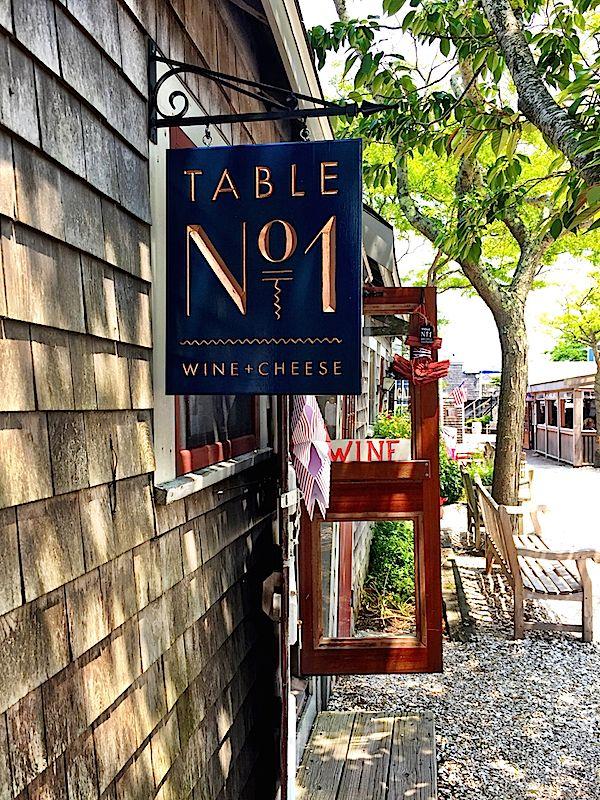 Ping The Wharf On Nantucket Table No 1
