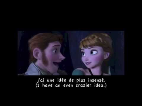 Love is an Open Door (Canadian French) w/ subtitles and translation - YouTube