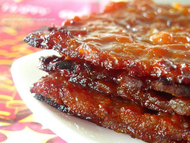 Homemade Chinese Pork Jerky (Bak Kwa)