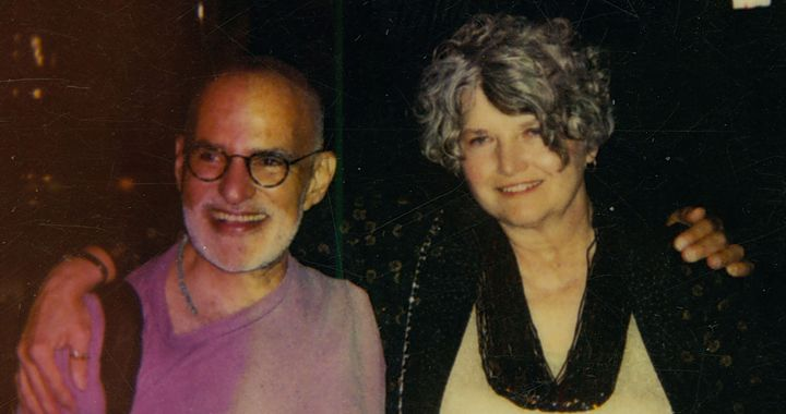 Patricia Nell Warren and famed AIDS-activist Larry Kramer. ONE Archives at the USC Libraries