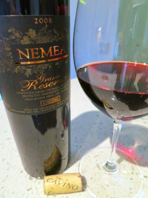 2008 Cavino Grande Reserve from PDO Nemea, Peloponnese, Greece (88 pts)