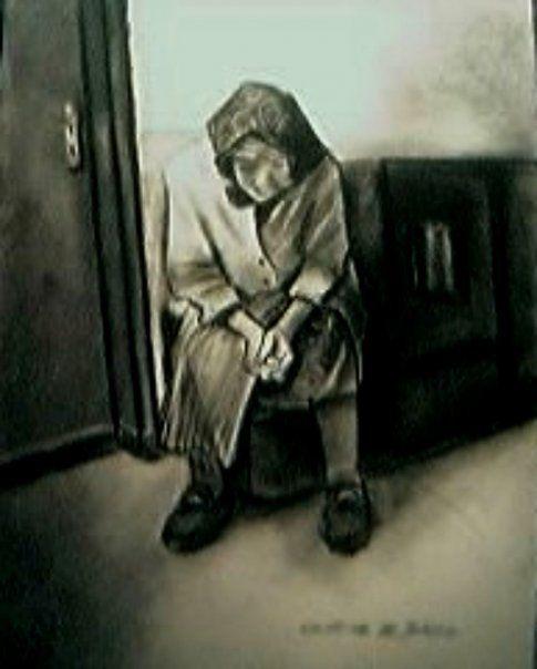Risultati immagini per quadri di immagini di solitudini e abbandoni
