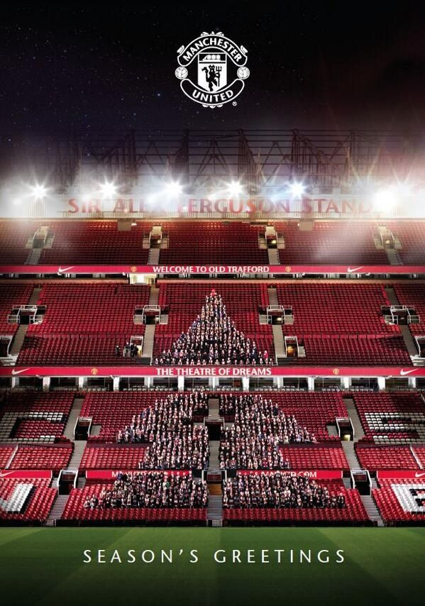 Happy Christmas from Manchester United.