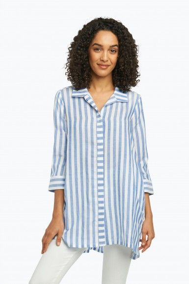 1565bed128c Skye Tunic in Soft Stripe
