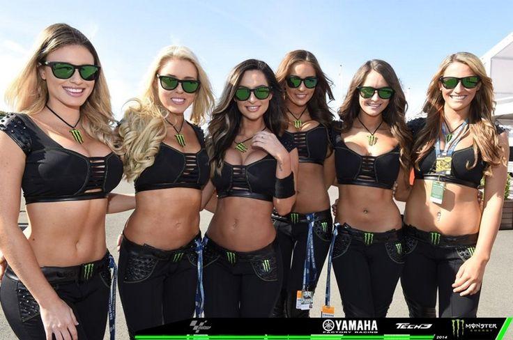 Девушки паддока Гран При Филипп-Айленда