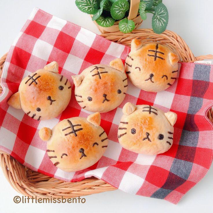 // Recipe Homemade Milo Bread Buns - Cute Tiger Buns //