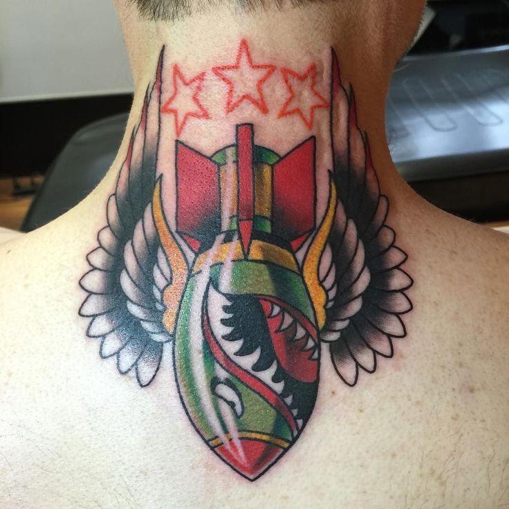 35 Splendid Back Of Neck Tattoo Designs: Best 25+ Neck Tattoos Ideas On Pinterest