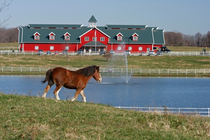Warm Springs Ranch - Home of the Budweiser Clydesdales in Booneville, Missouri