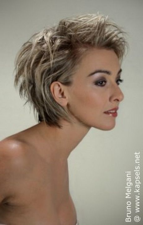 Vlotte kapsels kort haar