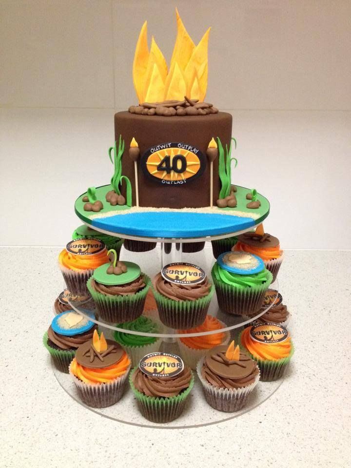 Survivor cake TV show