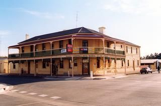 SA - Moonta - Cornwall Hotel.The hotel was established in 1862 and has a National Trust listing