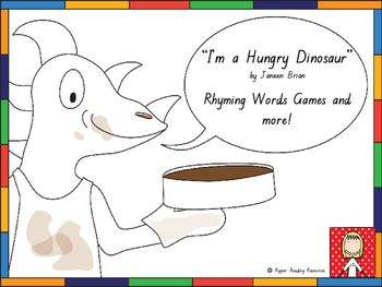 Rhyming words game cards are included with four rhyming words game options for…