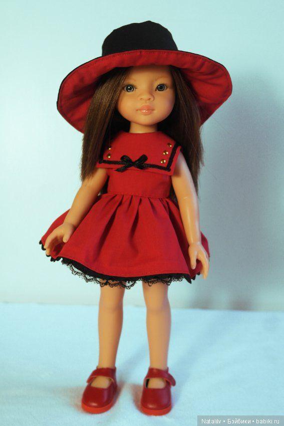 Всем привет! Хочу похвастаться своим выигрышем в конкурсе от Paola Reina! Это замечательная куколка Мали! Ну ко мне домой она