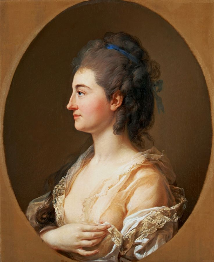 Portrait de Catherina Gattai Tomatis (Thomatis), vers 1780 Marcello Bacciarelli