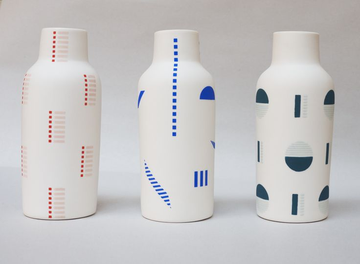 Bottle Vases: The Granite