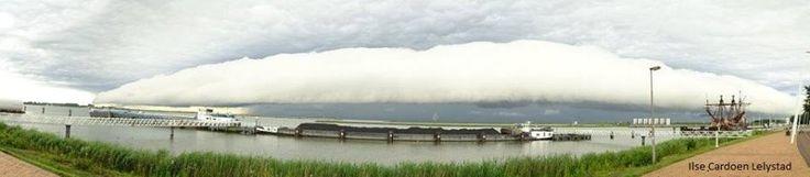 Shelfcloud over Lelystad