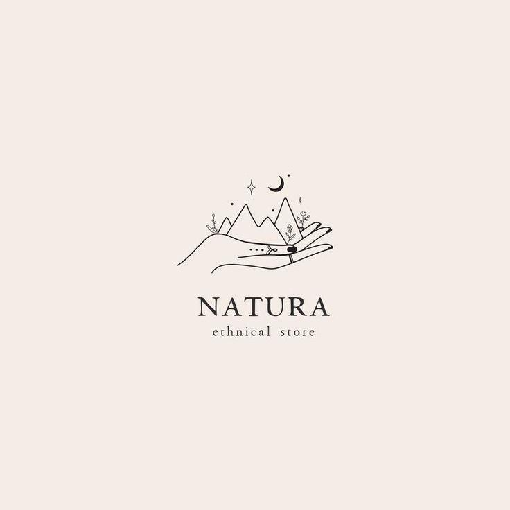 Berge Natur vorgefertigte-Logo | Logo-Design | Geschäftslogo | Modernes Logo | Individuelles Logo | Branding-Paket | Logo-Design Custom | Handlogo