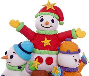 Coole sneeuwmannetjes.