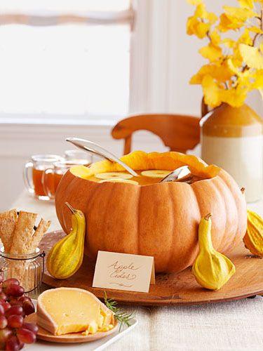 Make a pumpkin bowl!