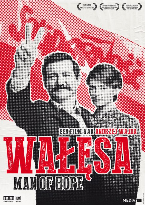Walesa. Man Of Hope (Andrzej Wajda, 2013) poster