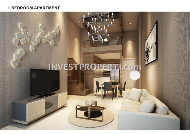 Apartemen Cambio Lofts Alam Sutera tipe 1 BR. #cambioloftsalamsutera